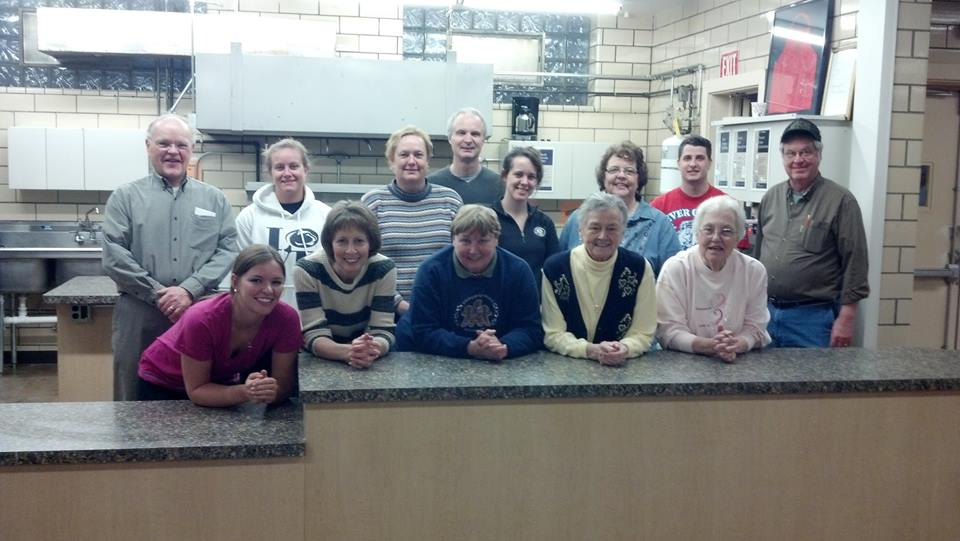 AGAPE Meal volunteers